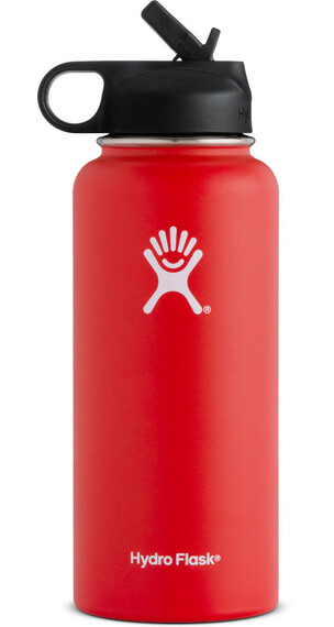 Hydro Flask Wide Mouth Straw Bottle 32oz (946ml) Lava